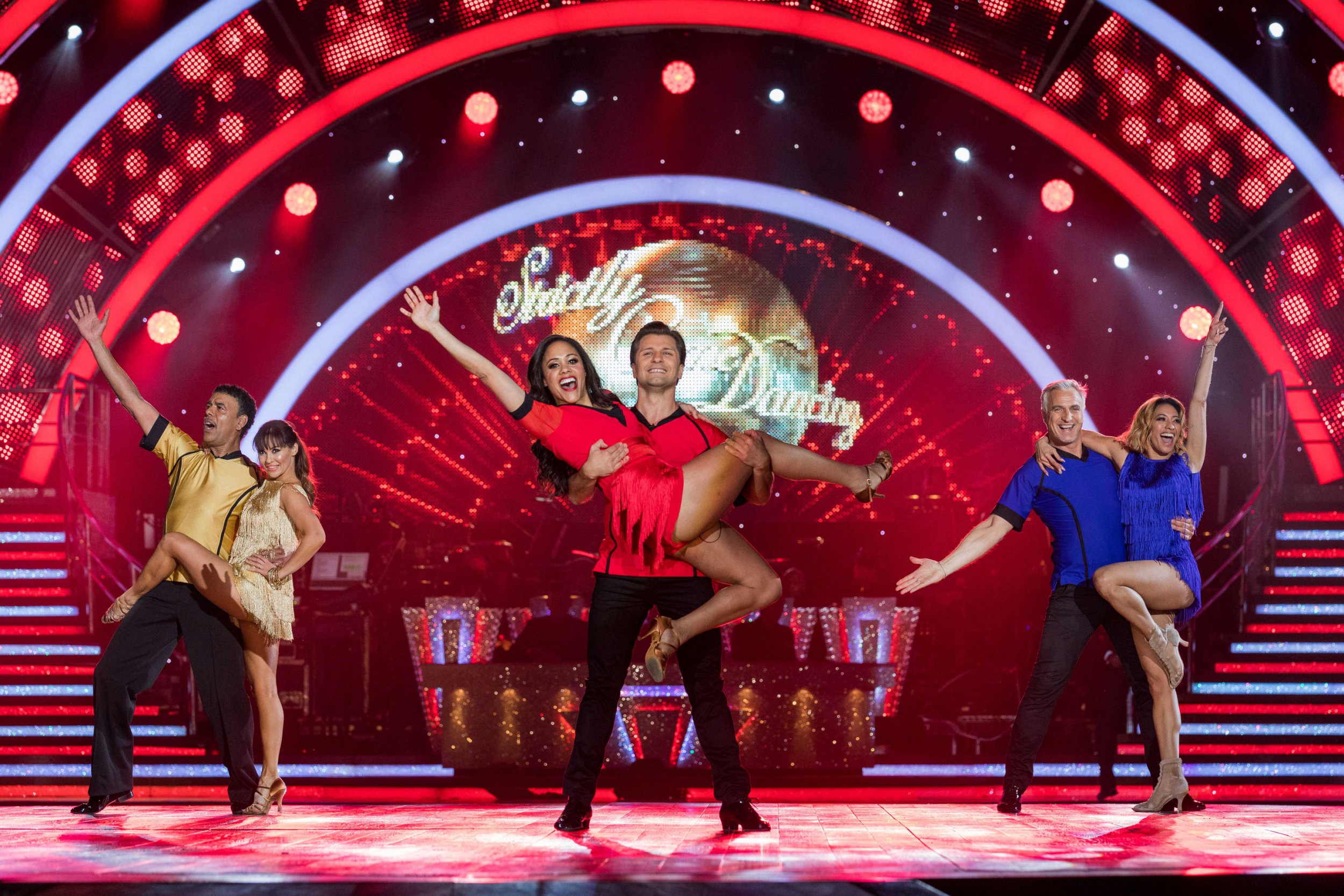 Alex Scott crowned winner of Sport Relief's Strictly Come Dancing special
