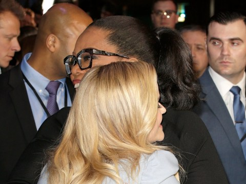 Oprah Winfrey and Reese Witherspoon embrace on UK red carpet for A Wrinkle In Time