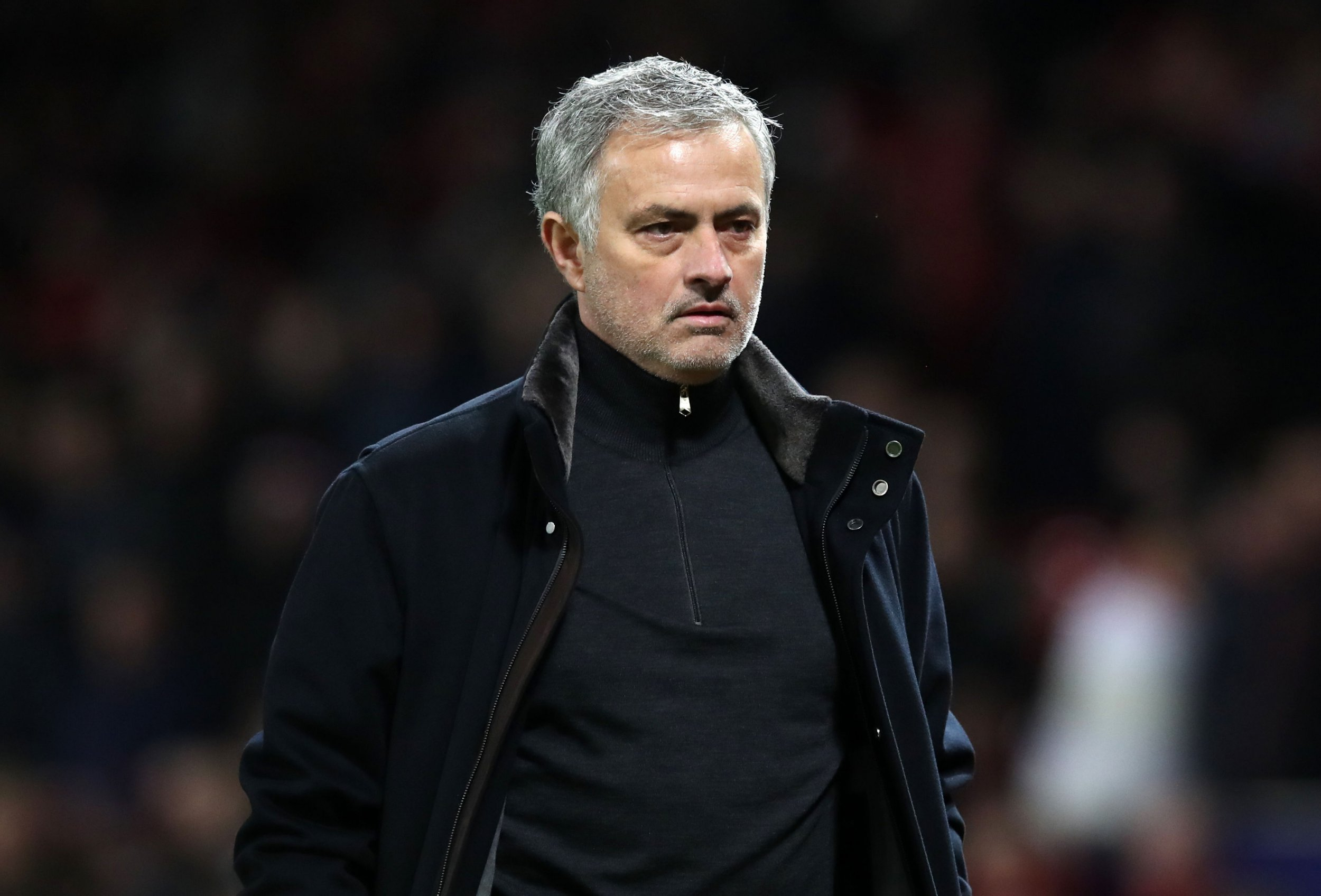 Manchester United manager Jose Mourinho looks dejected after the UEFA Champions League round of 16, second leg match at Old Trafford, Manchester. PRESS ASSOCIATION Photo. Picture date: Tuesday March 13, 2018. See PA story SOCCER Man Utd. Photo credit should read: Martin Rickett/PA Wire