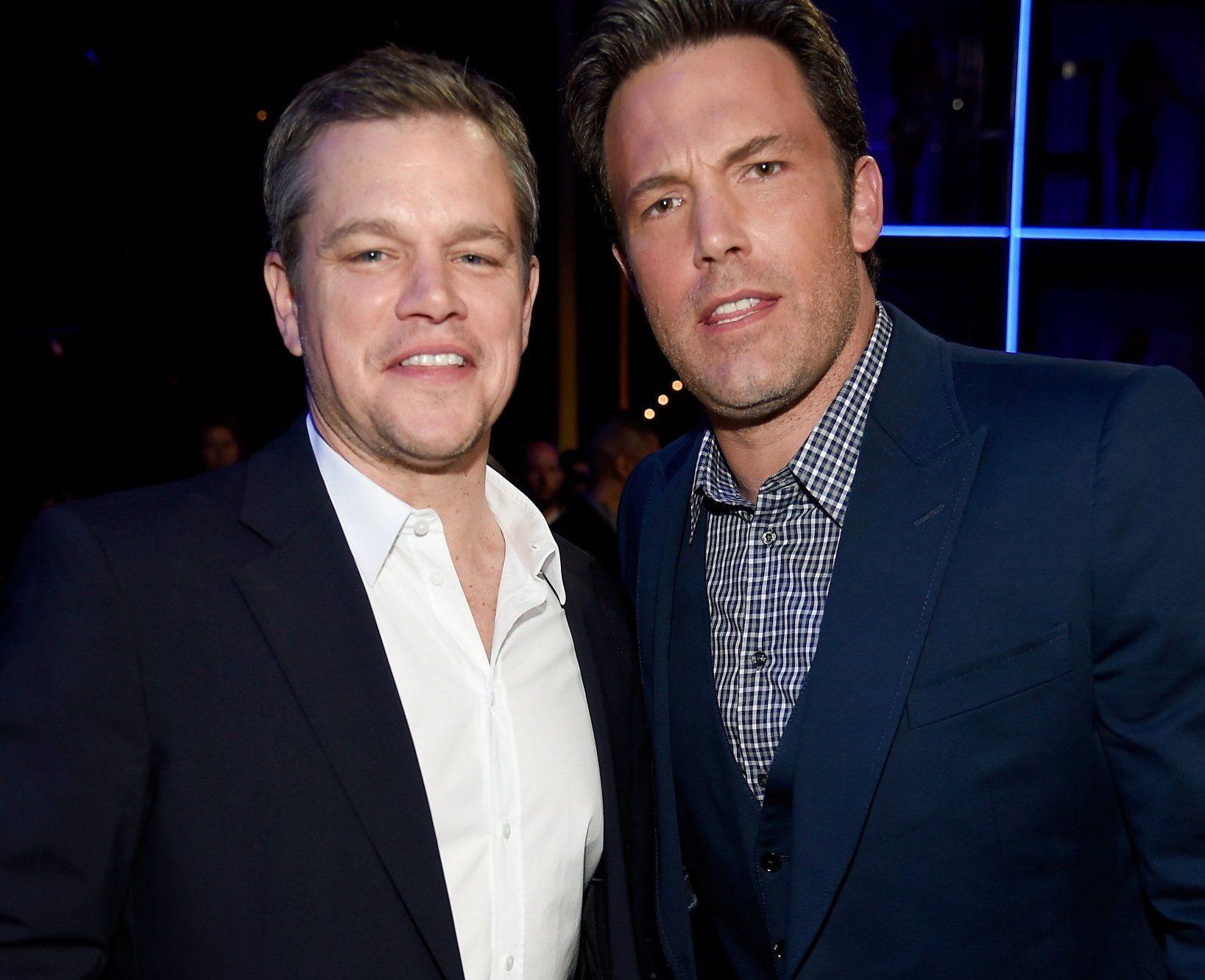 Ben Affleck and Matt Damon reunite their bromance for new crime drama TV series City on a Hill