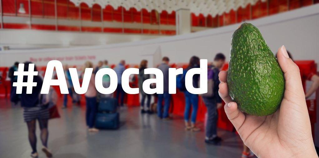 Get cheaper train tickets by presenting an avocado instead of millennial railcard