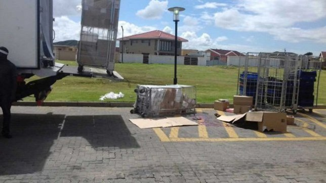 SUDDEN DEATH: A boy of 13 was killed when a load of frozen chicken fell from a truck at Amalinda KFC yesterday TAKEN FROM http://www.dispatchlive.co.za WITHOUT PERMISSION