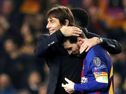Antonio Conte reveals what he told Lionel Messi after Chelsea's defeat to Barcelona