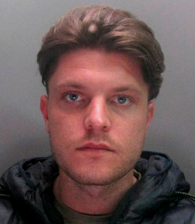 Dated: 15/03/2018 Jed Riddell, who has been jailed for three years at Durham Crown Court after he broke into his victim's home and performed a sex act on him as he slept. See story North News