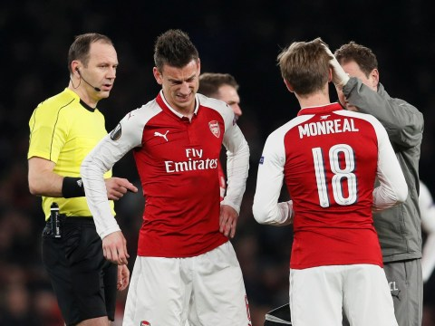 Jack Wilshere caps special day by taking armband from injured Laurent Koscielny during Arsenal v AC Milan