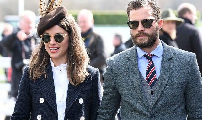 Jamie Dornan and wife Amelia Warner enjoy rare date