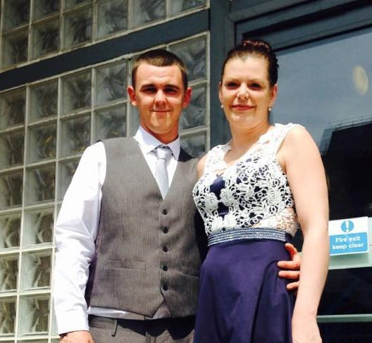 Kerry Hutchinson, 35, lost 22 babies and was told she's very unlucky by doctor Pictured with her fiance Connell Credit: BPM Media