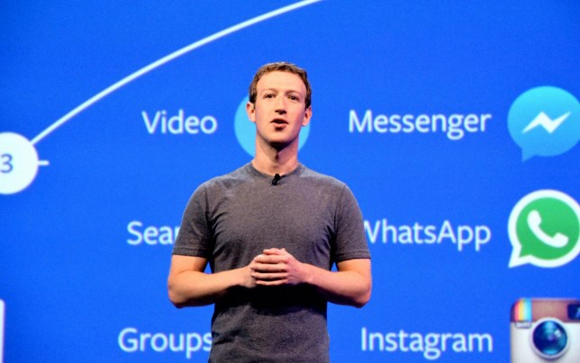 Mark Zuckerberg Facebook founder and CEO addresses during the Facebook F8 Developers Conference on April 12, 2016 in San Francisco, California. (Photo by The Asahi Shimbun via Getty Images) SAB FRANCISCO, CA - APRIL 12: (CHINA OUT, SOUTH KOREA OUT)