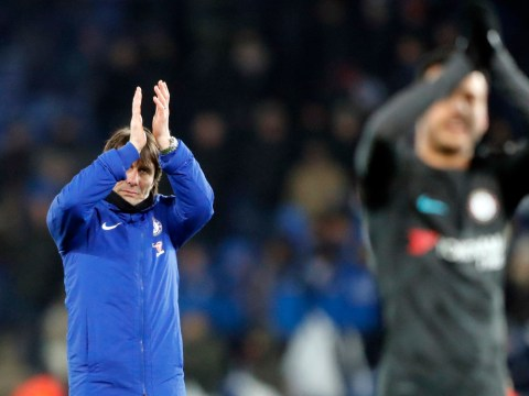 Antonio Conte reacts to Chelsea drawing Southampton in the FA Cup semi-finals