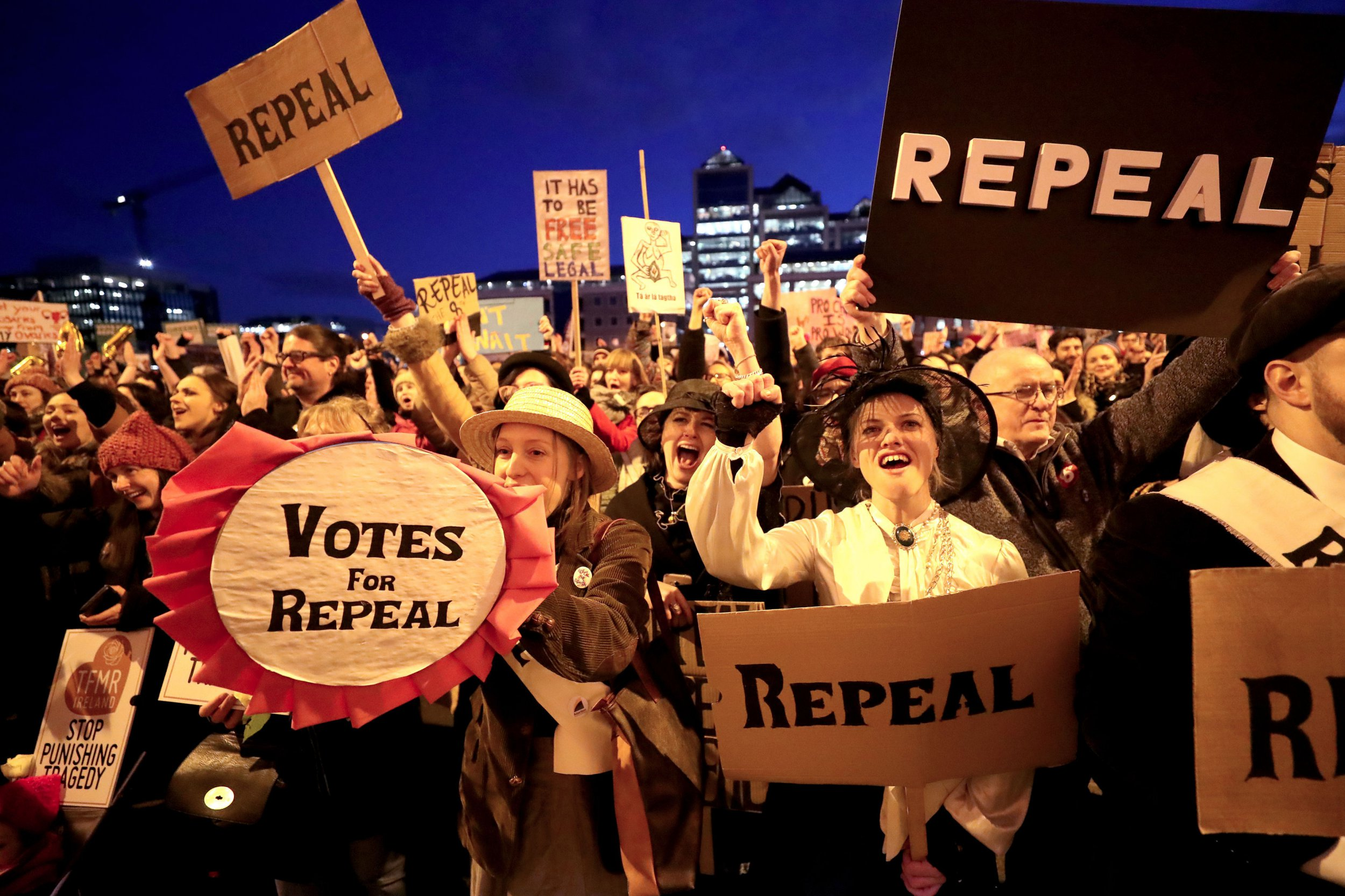 Campaign for 150-year-old abortion law in Northern Ireland to be repealed