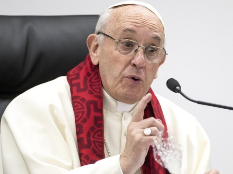 Pope Francis compares prostitution to torture and says men who use them are 'criminals'