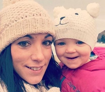 """A THREE-year-old girl has reportedly died after being pulled from a """"stolen"""" car which plunged into a freezing river. Heartbroken relatives tonight paid tribute to little Kiara, saying she had an """"amazing but short life"""" after she was found in a silver Mini ditched in a river in Cardigan, West Wales. Pictured here is Jetro Moore, Kim Rowlands and tragic Kiara. ? WALES NEWS SERVICE"""