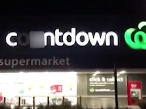 Broken light ends up calling airport supermarket c*ntdown