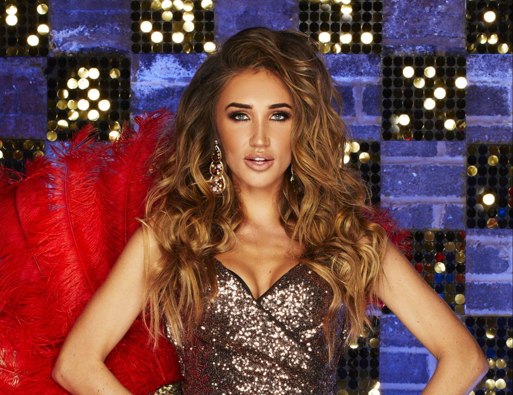 STRICTLY EMBARGOED PICTURE: FOR PUBLICATION FROM TUESDAY 20th MARCH 2018 From Spungold Productions THE REAL FULL MONTY : LADIES NIGHT Thursday 29th March 2018 on ITV Pictured: Megan McKenna. Hot on the heels of the return of ?The Real Full Monty?, eight female celebrities are gearing up for the performance of their lives in ?The Real Full Monty: Ladies? Night?, determined to show the boys how it?s done and raise awareness of breast cancer. This ?sister? commission to The Real Full Monty will see two unforgettable nights running on ITV. The men?s Real Full Monty might be bigger and better than ever before, but the eight brave ladies ready to take them on are TV presenter Coleen Nolan, broadcaster Victoria Derbyshire, Emmerdale actress Sally Dexter, reality TV star Megan McKenna, former Liberty X singer Michelle Heaton, actress Helen Lederer, TV legend Ruth Madoc and presenter Sarah-Jane Crawford - for all of whom the issue of breast cancer awareness is close to their hearts. The ladies? mission is to pull together to create a show-stopping performance that will wow the audience as they battle to overcome their nerves and inhibitions, learn to love their bodies and dare to bare for a good cause. Along the way they visit the legendary Moulin Rouge in Paris to get inspiration for the show. ? ITV Photographer: Nicky Johnston This photograph is ? ITV and can only be reproduced for editorial purposes directly in connection with the programme THE REAL FULL MONTY : LADIES NIGHT or ITV. Once made available by the ITV Picture Desk, this photograph can be reproduced once only up until the Transmission date and no reproduction fee will be charged. Any subsequent usage may incur a fee. This photograph must not be syndicated to any other publication or website, or permanently archived, without the express written permission of ITV Picture Desk. Full Terms and conditions are available on the website www.itvpictures.com