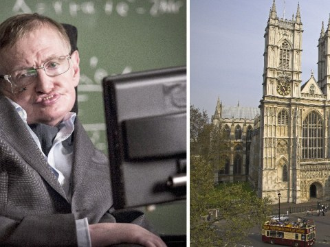 Professor Stephen Hawking will be buried at Westminster Abbey
