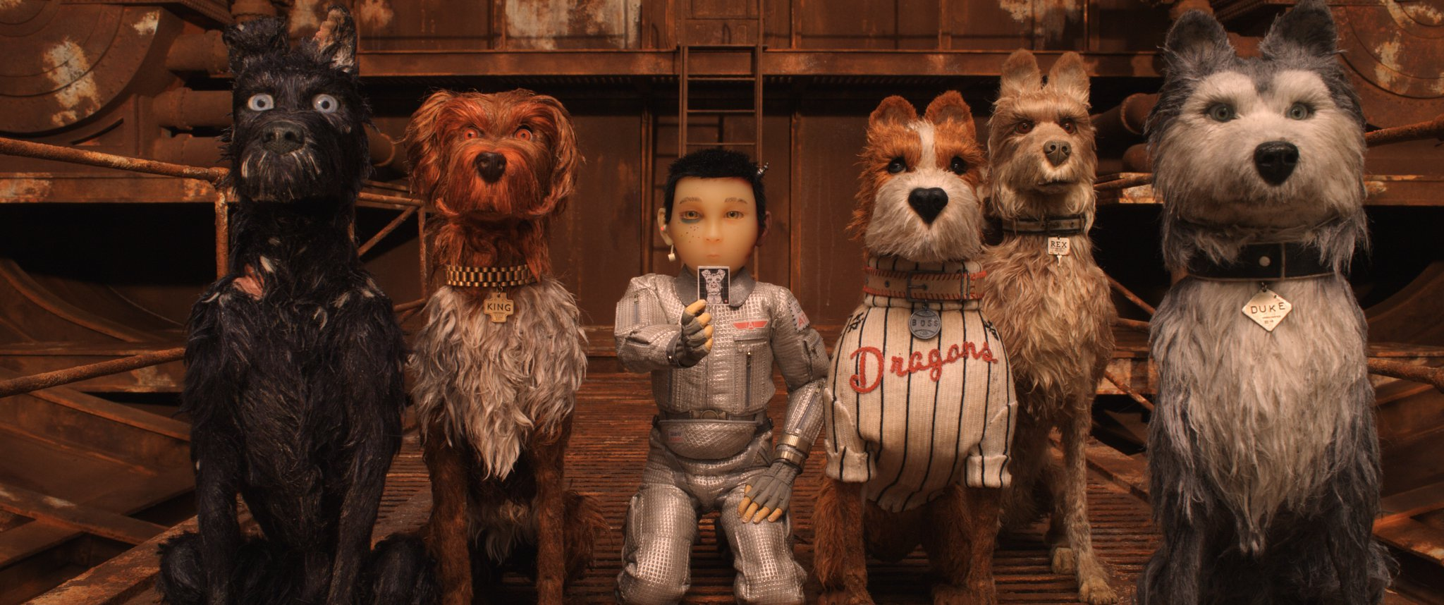 RELEASE DATE: March 23, 2018 TITLE: Isle of Dogs STUDIO: Fox Searchlight Pictures DIRECTOR: Wes Anderson PLOT: Set in Japan, Isle of Dogs follows a boy's odyssey in search of his lost dog. STARRING: Voice of LIEV SCHREIBER as Spots. 20 Mar 2018 Pictured: RELEASE DATE: March 23, 2018 TITLE: Isle of Dogs STUDIO: Fox Searchlight Pictures DIRECTOR: Wes Anderson PLOT: Set in Japan, Isle of Dogs follows a boy's odyssey in search of his lost dog. STARRING: Voice of Jeff Goldblum, Bill Murray, Bob Balaban, Edward Norton, Bryan Cranston, Koyu Rankin. Photo credit: ZUMAPRESS.com / MEGA TheMegaAgency.com +1 888 505 6342
