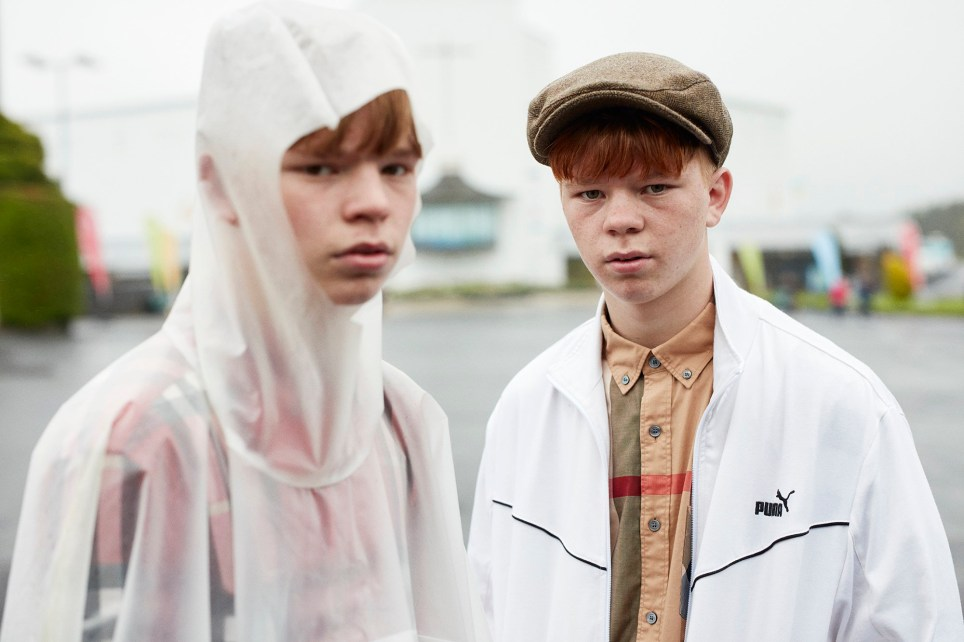 The teenage lives of two Irish Traveller brothers who became fashion world sensations (Picture: Perry Ogden/Paddy & Liam)