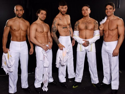 Jake Quickenden, Kem Cetinay and the men of Dancing On Ice go topless and we can't figure out why
