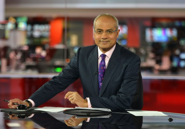 "For use in UK, Ireland or Benelux countries only Undated BBC handout photo of BBC newsreader George Alagiah, who said his cancer was caught ""very late"" and may have been detected earlier if England had similar screening procedures to Scotland. PRESS ASSOCIATION Photo. Issue date: Sunday March 25, 2018. The 62-year-old presenter, who lives in London, discovered his stage four bowel cancer had returned before Christmas. See PA story HEALTH Alagiah. Photo credit should read: Jeff Overs/BBC/PA Wire NOTE TO EDITORS: Not for use more than 21 days after issue. You may use this picture without charge only for the purpose of publicising or reporting on current BBC programming, personnel or other BBC output or activity within 21 days of issue. Any use after that time MUST be cleared through BBC Picture Publicity. Please credit the image to the BBC and any named photographer or independent programme maker, as described in the caption."