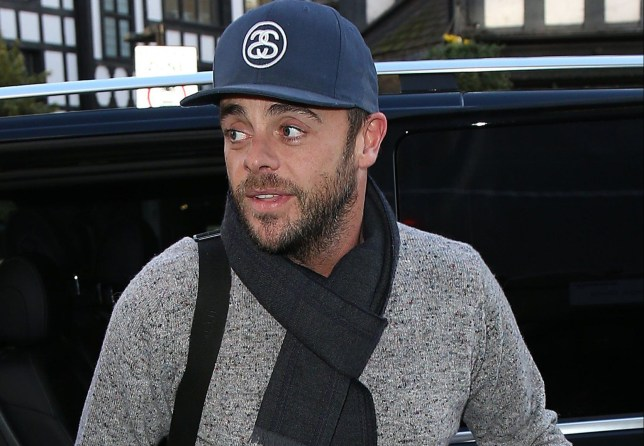 LONDON, ENGLAND - JANUARY 31: Ant McPartlin arriving at the London Palladium for Britain's Got Talent auditions on January 31, 2018 in London, England. (Photo by Neil Mockford/GC Images)