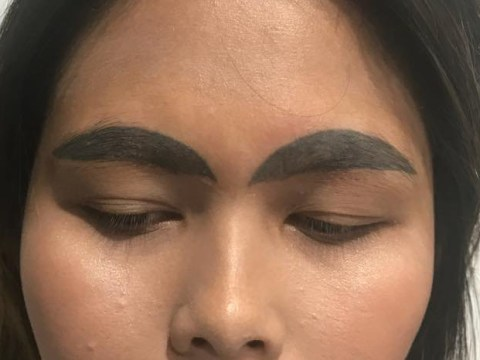 Woman's tattoo nightmare will make you think twice about messing with your brows