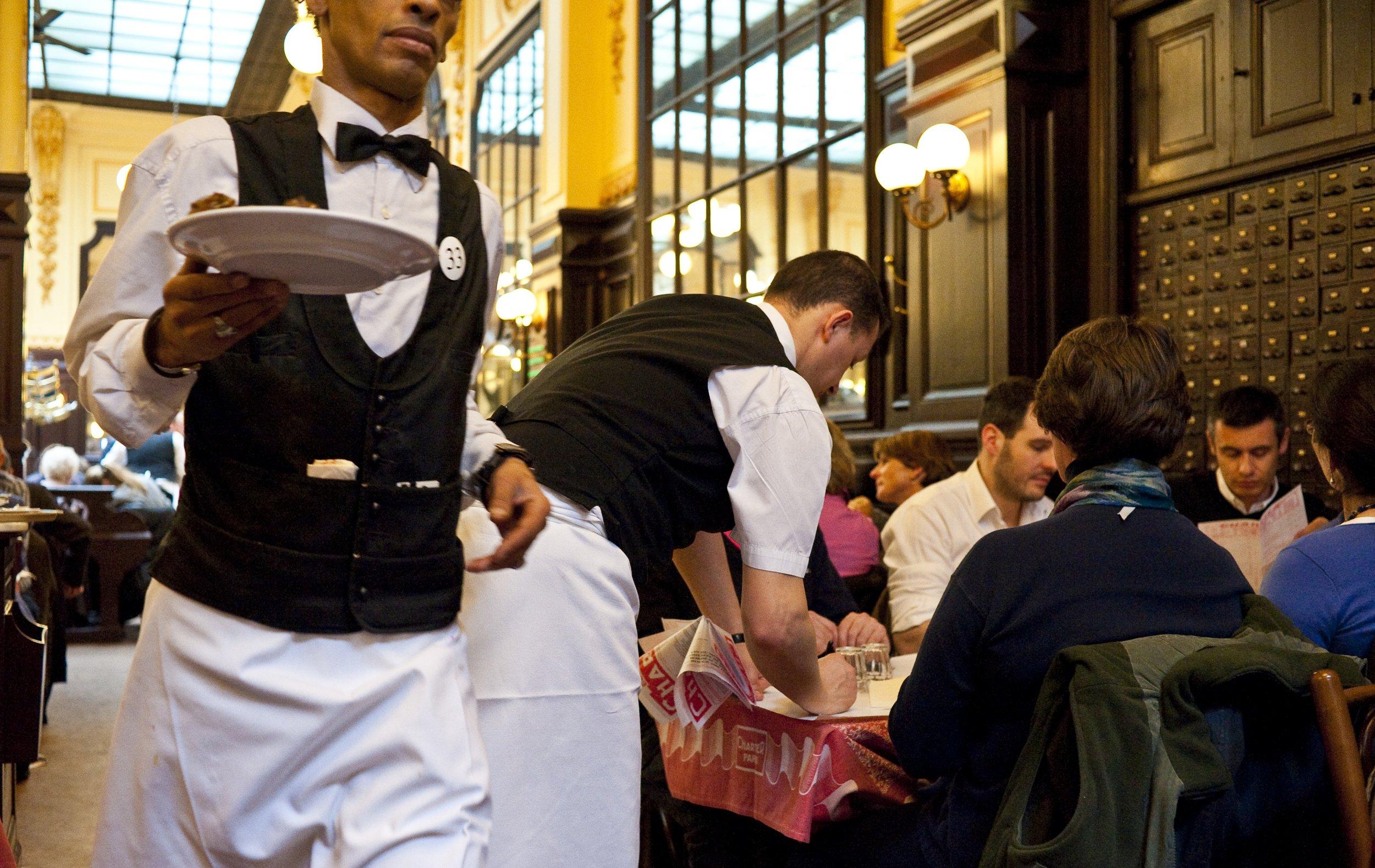 France, Paris (75), restaurant Chartier au 7 rue du Faubourg-Montmartre // France, Paris, Chartier Restaurant in 7 Rue du Faubourg Montmartre