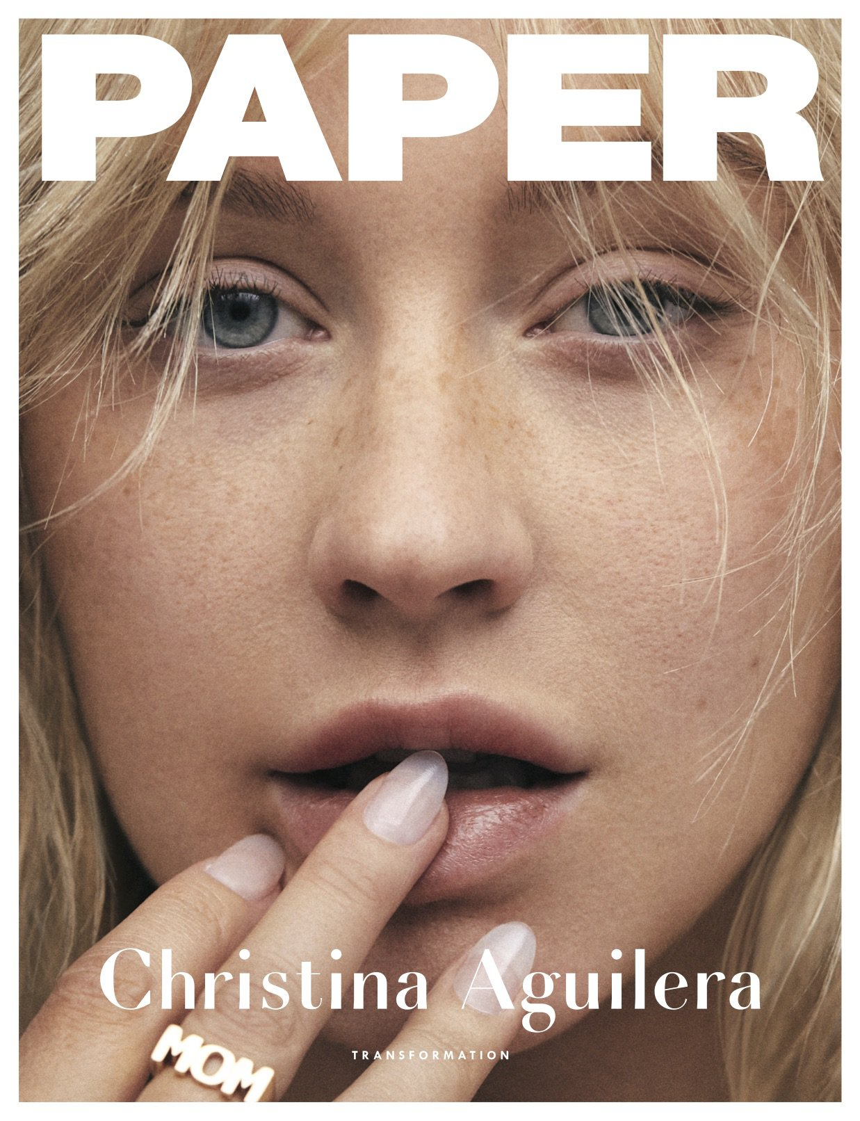 Christina Aguilera no make-up pictures Zoey Grossman/Paper