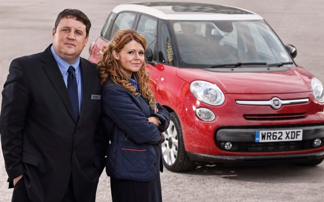 Peter Kay sitcom Car Share (Picture: BBC)