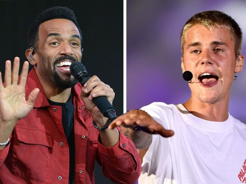 Craig David is totally up for a Justin Bieber collab but he doesn't want to push it