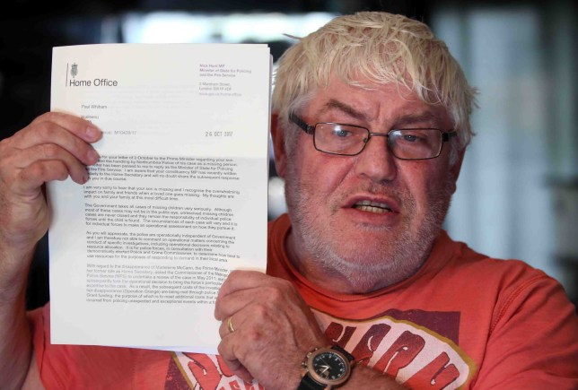 A Tyneside dad whose son has been missing for more than two years has hit out at news of more funding for the Madeleine McCann search. Paul Whinham wrote to Theresa May to express his frustrations about the ?unfairness? that so much focus and funding was going to the Madeleine McCann search. His son Michael went missing from his home in Oakfield Gardens, Benwell in November 2015 aged 31. A week before his son?s 34th birthday, Paul, who lives in Wallsend, said: ?I can?t knock the police but after a six-month investigation they said they would be stopping the search. Paul Whinham who has a missing son has written to the Prime Minister to express his anger at the new money being allocated to the Madeleine McCann search