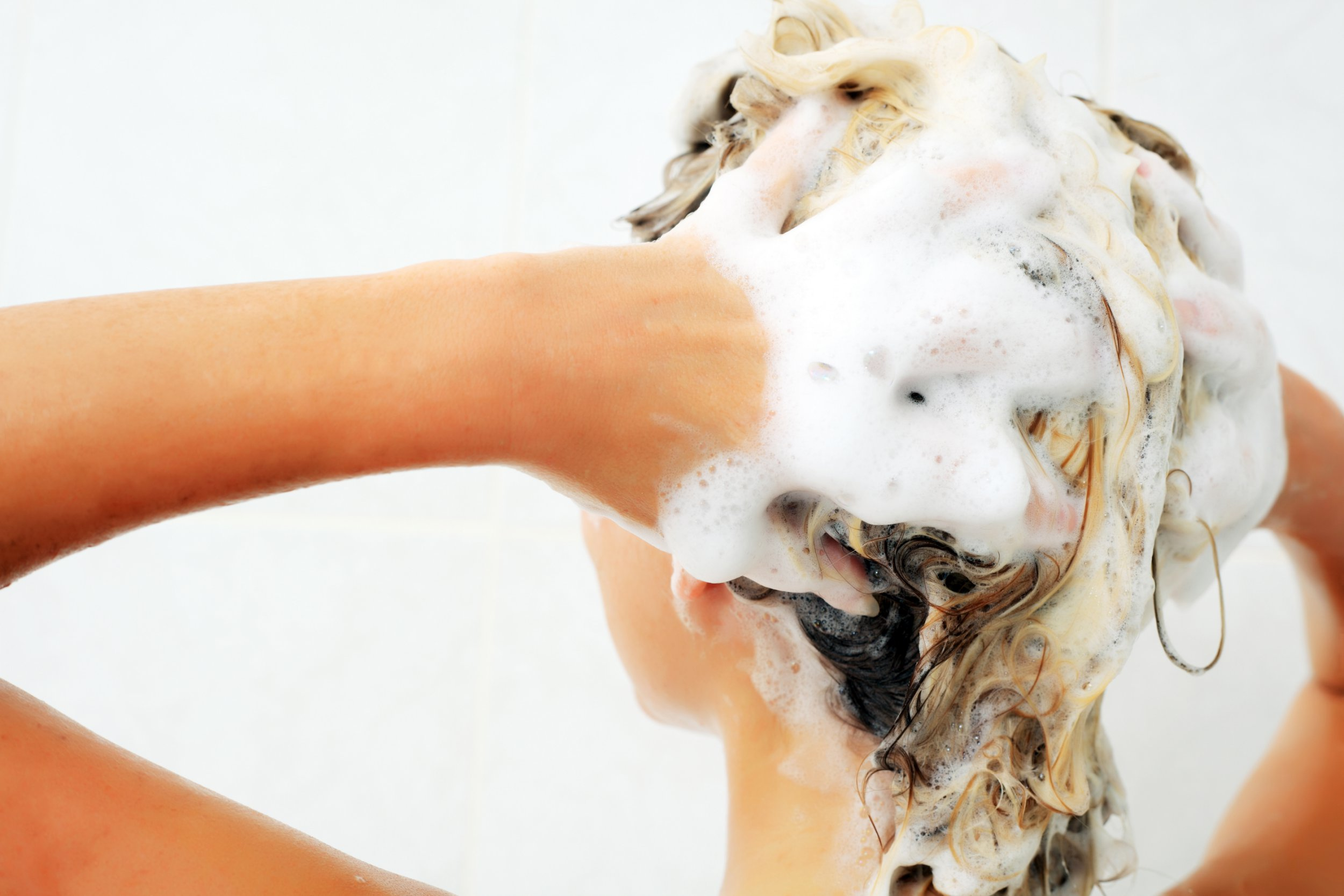 Why is shampoo always white when you rub it in? Getty