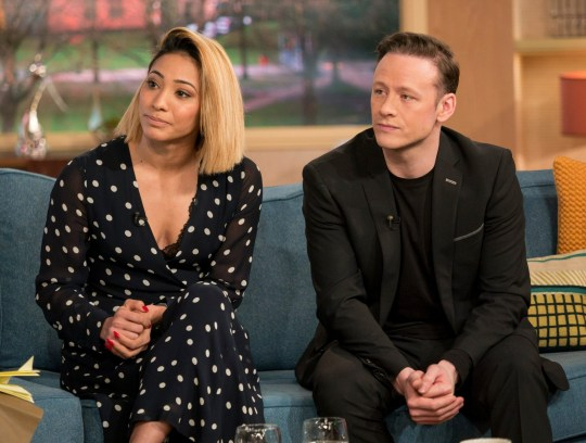 EDITORIAL USE ONLY. NO MERCHANDISING Mandatory Credit: Photo by S Meddle/ITV/REX/Shutterstock (9481103by) Karen Clifton and Kevin Clifton 'This Morning' TV show, London, UK - 28 Mar 2018 KAREN AND KEVIN CLIFTON: ?THE MARRIAGE MIGHT BE OVER, BUT WE?RE STILL DANCING? They were the golden couple of ballroom dancing, waltzing their way to West End glory and five Strictly finals. But the fairytale couldn?t last forever and just last week, Karen and Kevin Clifton announced their separation - making them the 11th couple to fall victim to the ?Strictly Curse?. But, the fan favourites insist they?re still the best of friends and have no plans to stop working together. Today, we?re joined by Karen and Kevin to explain why they?ve parted ways after less than 3 years of marriage, and why they?re so excited about their upcoming UK tour.