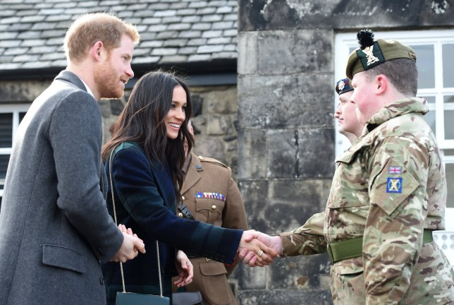 The Military S Role At Prince Harry And Meghan Markle S