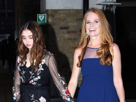 Former EastEnders star Patsy Palmer brings 16-year-old model daughter to UK for National Film awards