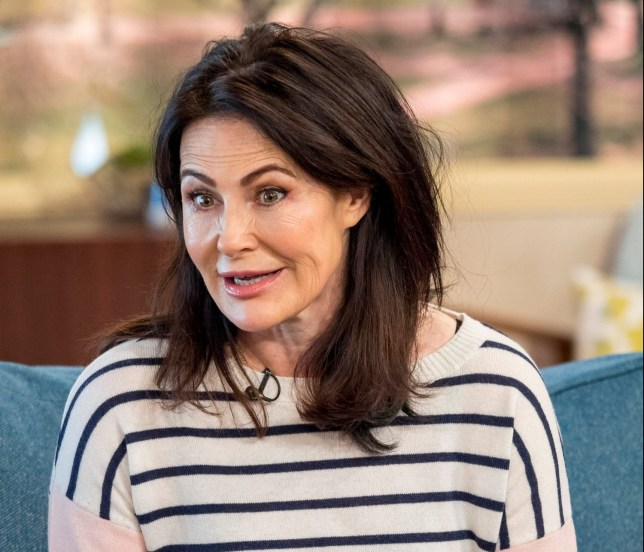 EDITORIAL USE ONLY. NO MERCHANDISING Mandatory Credit: Photo by Ken McKay/ITV/REX/Shutterstock (9484117ab) Sally Dexter 'This Morning' TV show, London, UK - 29 Mar 2018 She?s won an Olivier Award, appeared with Dame Judi Dench and Sir Anthony Hopkins but for Sally Dexter playing the feisty Faith Dingle in Emmerdale has become one of her most emotional roles to date. With her character revealing a secret battle with breast cancer, Sally became the first actress to reveal double mastectomy scars on screen. Now, with breast cancer awareness a cause close to her heart, Sally is joining seven celebrities as they dare to bare all in ITV?s ?The Real Full Monty: Ladies Night.? Sally will be joining us to tell us about tonight?s incredibly emotional performance and tell us why she hopes it will empower women everywhere.