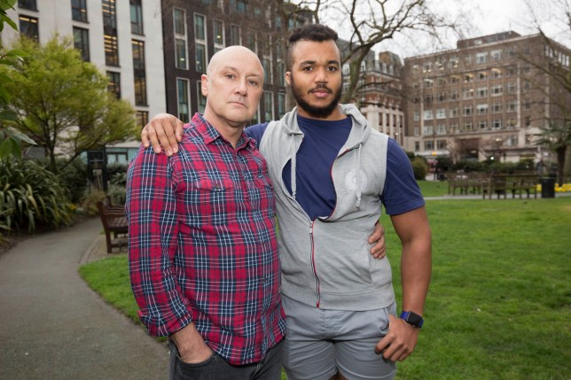 Fee ?75 for online and ?150 for print British Airway's Racism story Drew Clawson's black boyfriend Jonathan was accused of stealing an iPhone on a BA flight. Pictured:(L-R)Drew Clawson and Jonathan Vardon