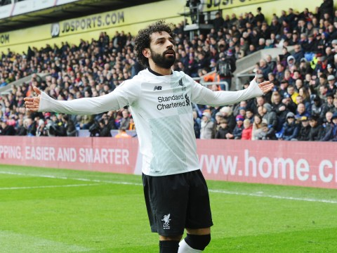 Mohamed Salah equals record held by Cristiano Ronaldo and Robin van Persie