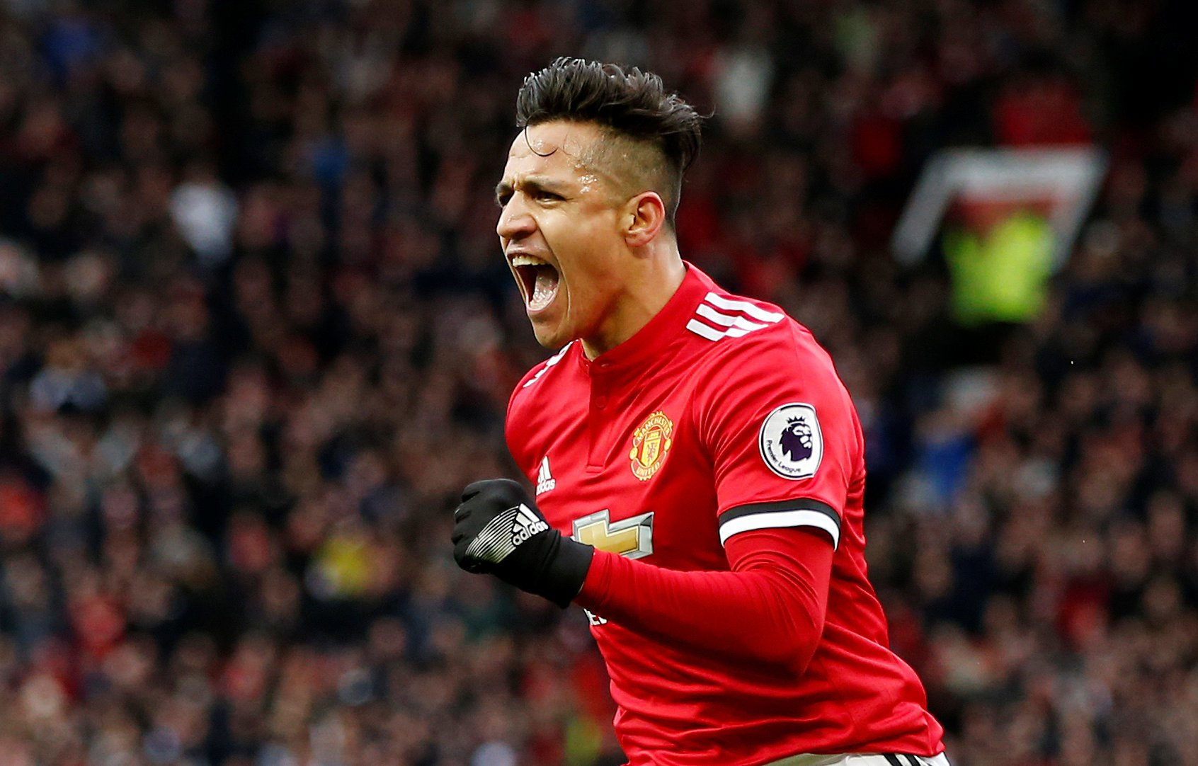 Romelu Lukaku pays tribute to Alexis Sanchez as Manchester United ace ends seven-game goal drought