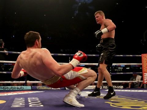 Joshua vs Parker Undercard: Alexander Povetkin scores chilling knockout of David Price