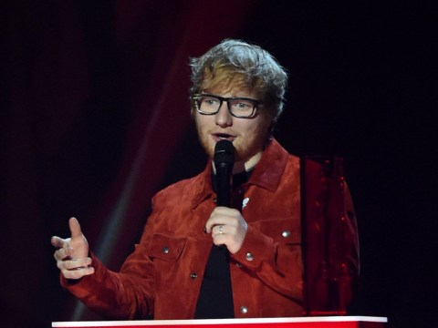 Ed Sheeran wears an engagement ring for equality and so 'nobody will know when he gets married'