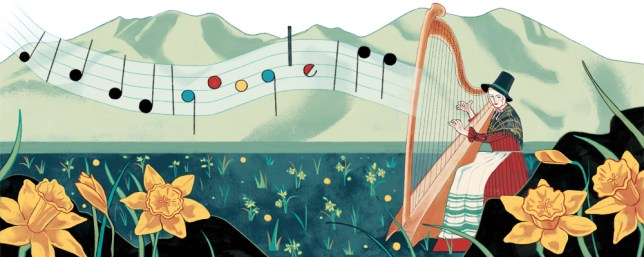 St David's Day Google Doodle celebrates Welsh National Anthem and