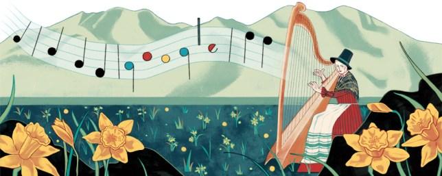 St David's Day Google Doodle celebrates Welsh National
