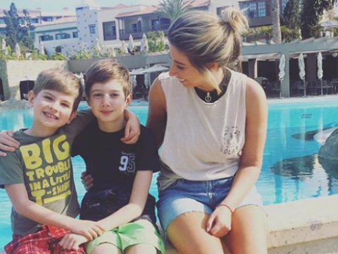 Stacey Solomon once took her 'rebellious' son to a police station to teach him a lesson