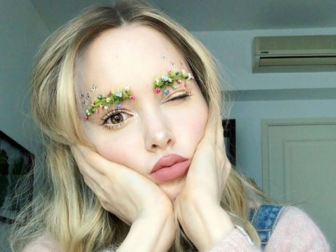 Garden eyebrows are the next weird beauty trend we might actually end up wearing