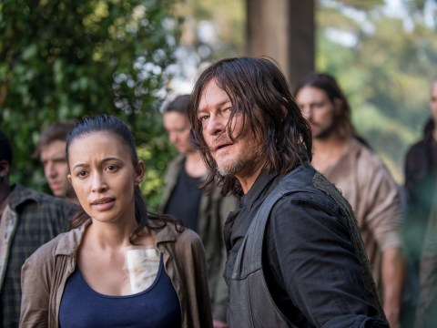 The Walking Dead season 8: First episode 11 pictures see Daryl lead the charge to Hilltop