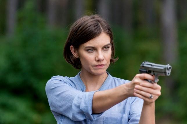 Maggie Rhee on The Walking Dead