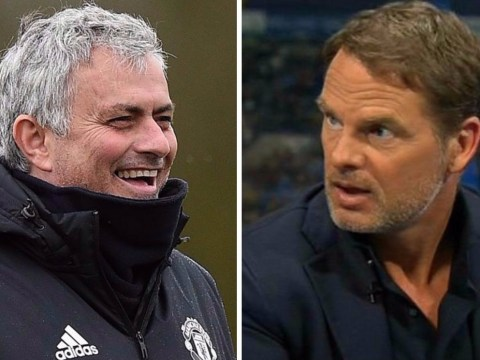 Jose Mourinho labels Frank de Boer 'the worst manager in Premier League history' after Marcus Rashford comments