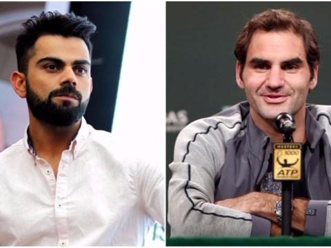 Virat Kohli hails tennis legend Roger Federer for 'defying all logic' and 'breaking barriers'