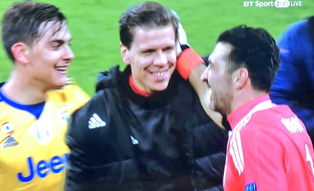 Wojciech Szczesny mocks Tottenham fans with 'chin up' gesture after Juventus win