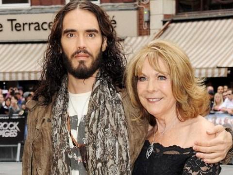 Russell Brand's mum 'pulled screaming from car' after hit and run crash